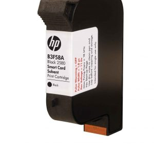 hp b3f58a black 2580 solvent print cartridge