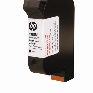 B3F58B 2580 Black Solvent Print Cartridge