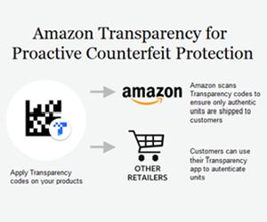 amazon transparency code