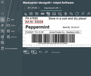 Markoprint® idesign8+ Inkjet Software