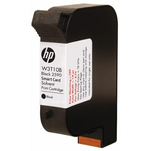 W3T10B 2590 Black Solvent Print Cartridge