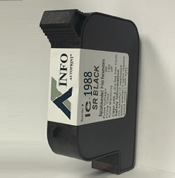 IC1988 AUTOPRINT Universal Black Solvent Print Cartridge