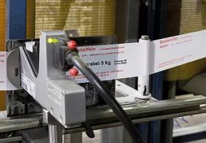 Markoprint equipment with Hewlett Packard ink